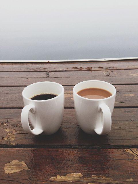 ceai cu lapte cafea neagra